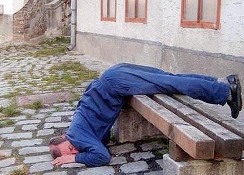 Những tư thế ngủ 'khó đỡ' 43e4fb10