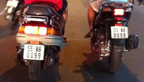 Biển số xe 'siêu độc' chỉ có ở Việt Nam A5a90b10