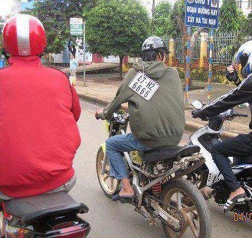 Biển số xe 'siêu độc' chỉ có ở Việt Nam D7fe3c10