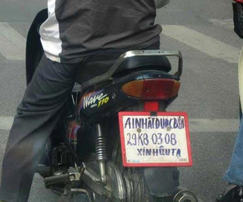 Biển số xe 'siêu độc' chỉ có ở Việt Nam E2ae6b10