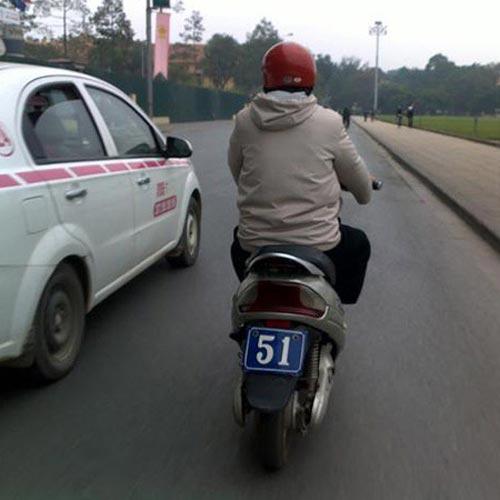 Biển số xe 'siêu độc' chỉ có ở Việt Nam Fe349b10