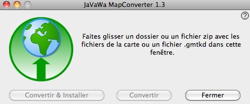 Créer un fichier GMAP ou GMAPI à partir d'un fichier OSM img sous mac OSX Captu106