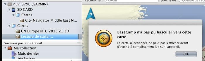[Résolu] Basecamp et 2 x même carte : 1 sur disque dur, 1 sur Garmin. Captur70