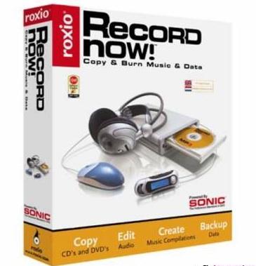 roxio record now