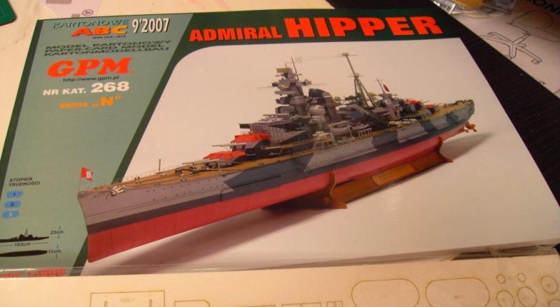 Admiral Hipper 1:200 von GPM Polen Pict3550