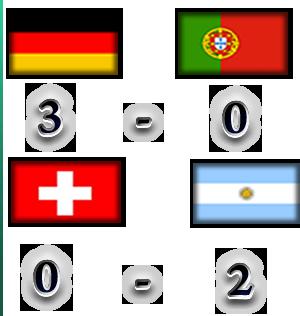 TABLA DE POSICIONES Result13