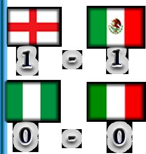 TABLA DE POSICIONES Result16