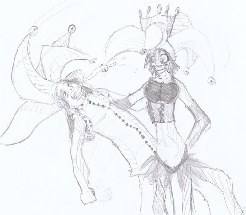 Le Roi des Boufons / Court récit à pulsions (illustré) par Kevin et moi. Bisou10