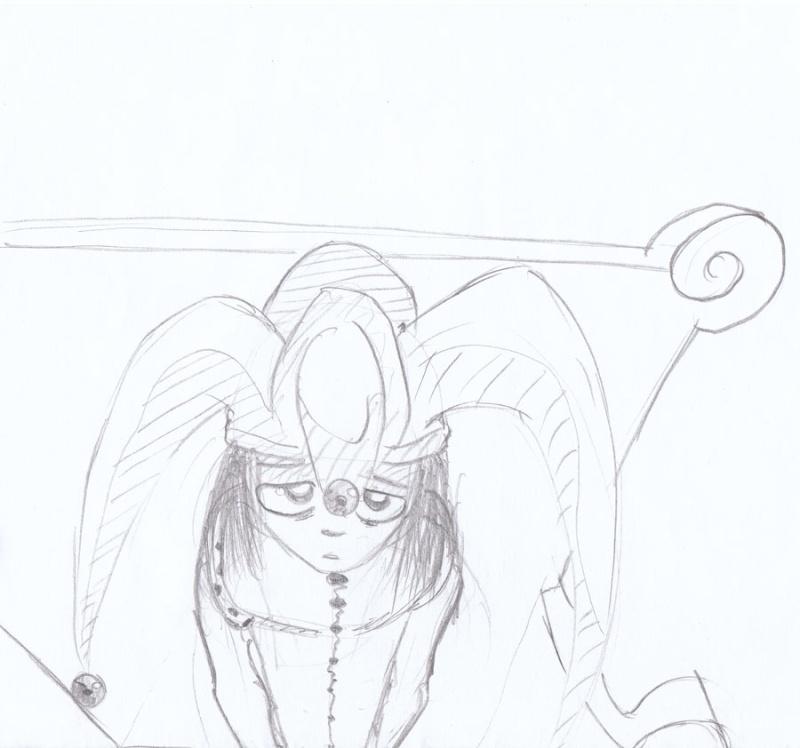 Le Roi des Boufons / Court récit à pulsions (illustré) par Kevin et moi. Ennui10