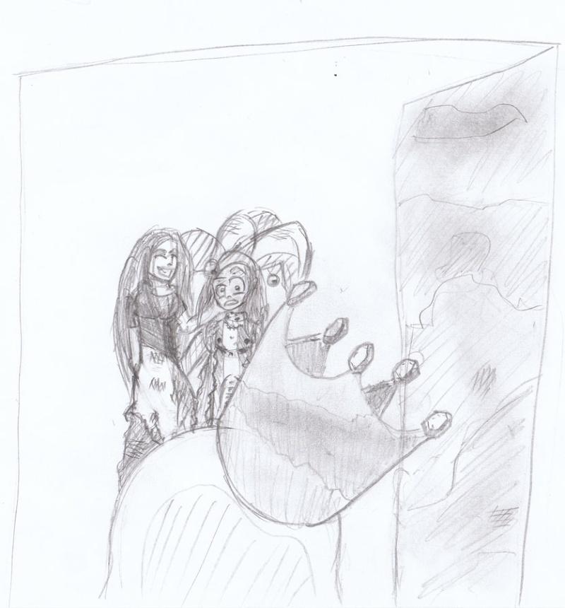 Le Roi des Boufons / Court récit à pulsions (illustré) par Kevin et moi. Flag_10