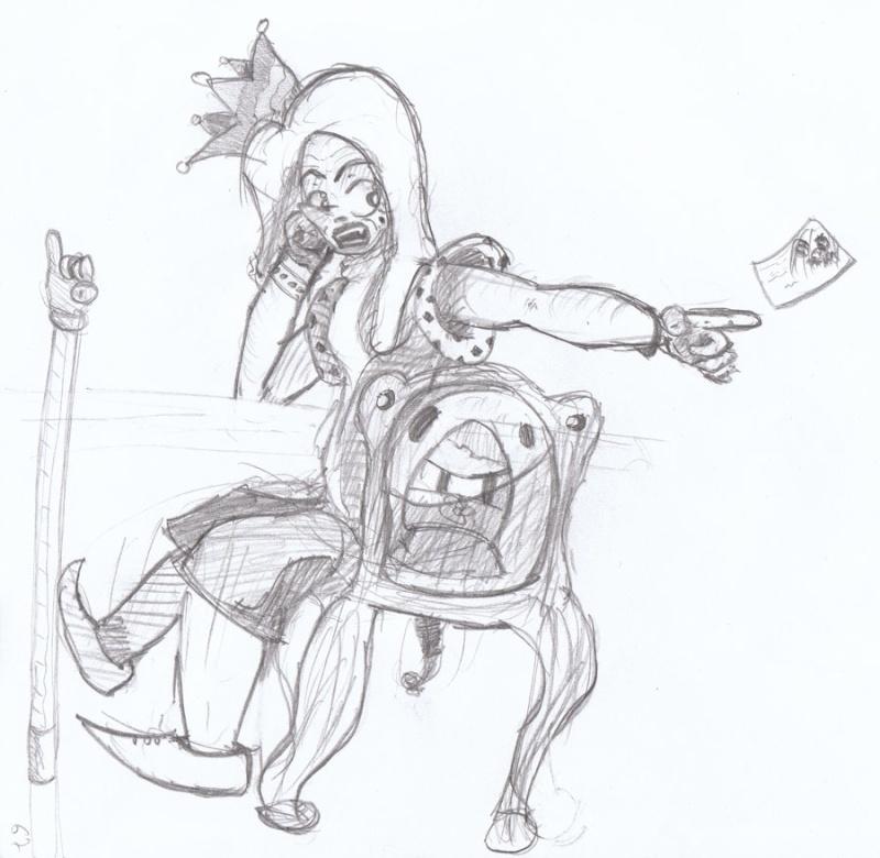 Le Roi des Boufons / Court récit à pulsions (illustré) par Kevin et moi. Sans-t10