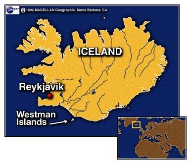 Les îles Vestmann Icelan10