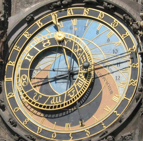 L'horloge astronomique de Prague Orloj-10