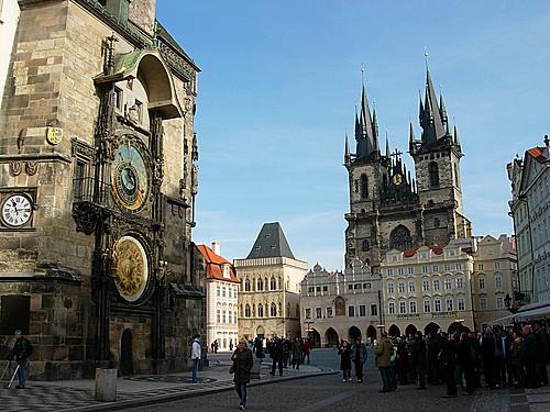 L'horloge astronomique de Prague Prague10