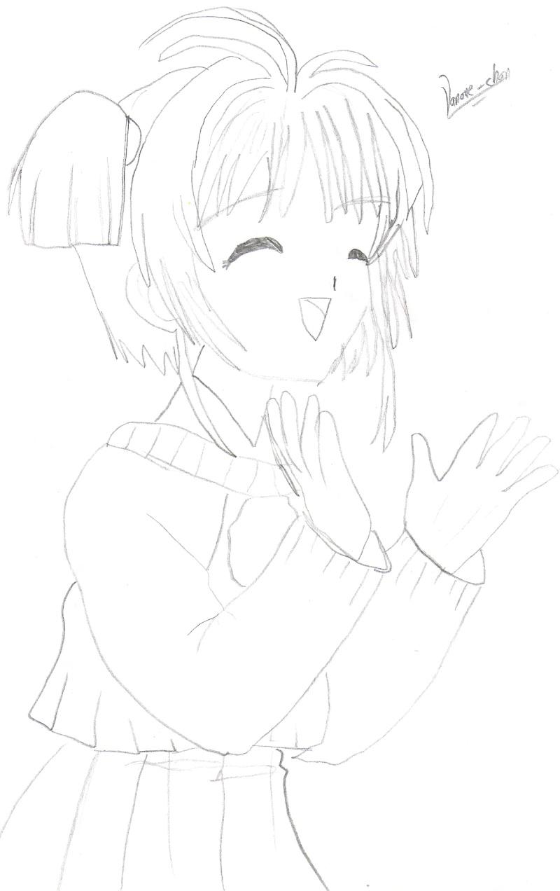 mis dibujos! Sakura10