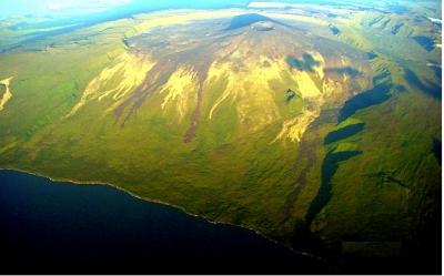 Le piton de la Fournaise sur l'île de la Réunion Indice13