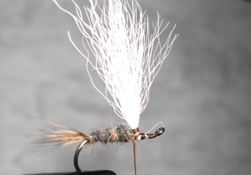 HARE'S EAR PARACHUTE step by step 410