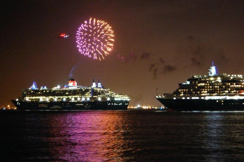 Three Cunard Ships in NYC on Sunday, January 13 2008 Cunard11