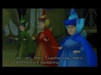 Les trois bonne fées ( préfère prendre la fuite par magie )