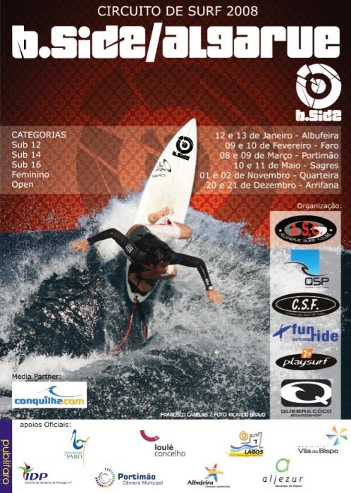 Informação relativa à 1ª Etapa - Quebra Côco Surf School Cartaz10