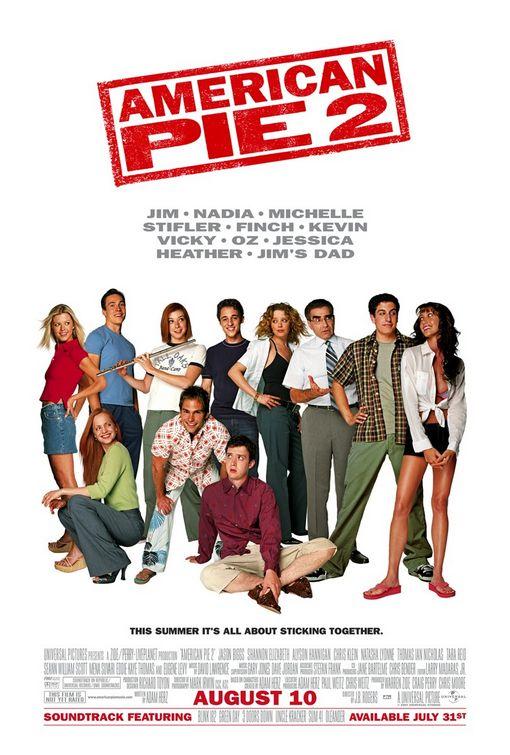 American Pie 1, 2, 3, 4, 5 i 6 дел 210