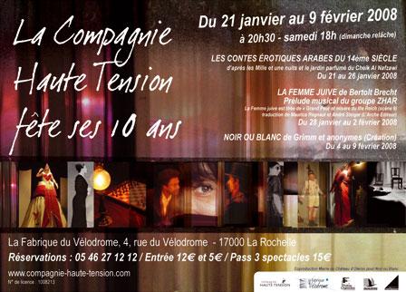 La Compagnie Haute Tension fête ses 10 ans!! Affich10