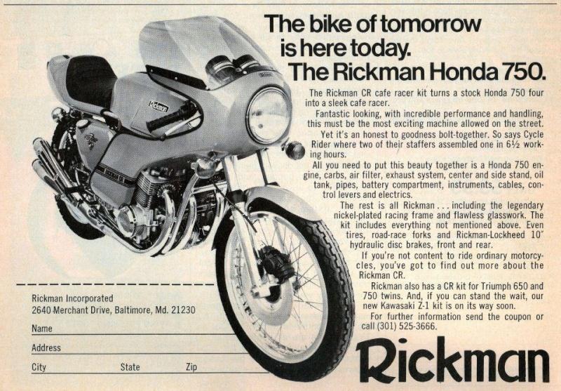 Honda Rickman 37860310