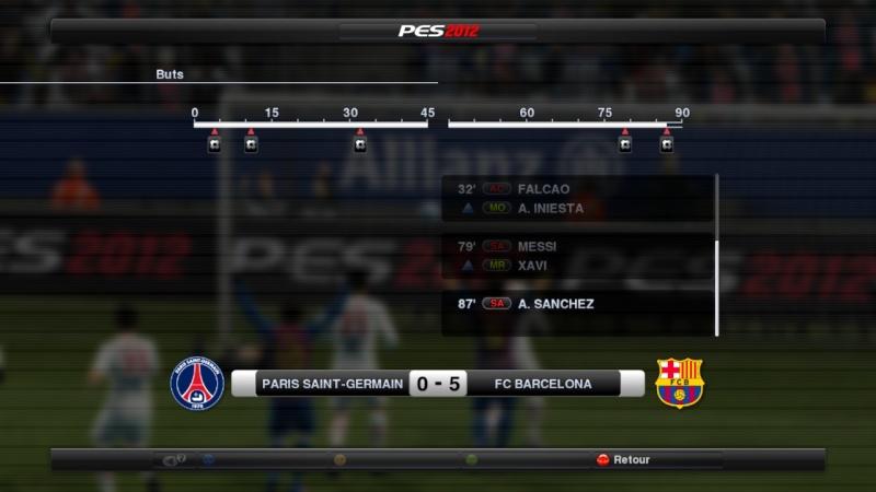 Paris Saint-Germain - F.C. Barcelone Pes20217