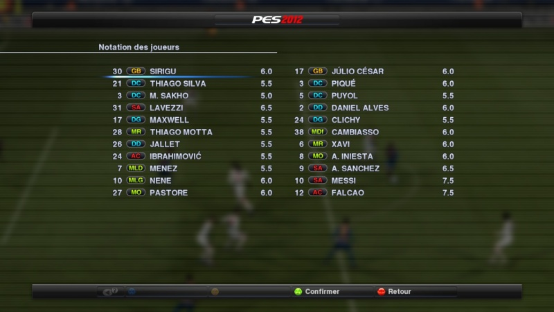 Paris Saint-Germain - F.C. Barcelone Pes20219