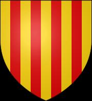 L\'origin du blason catalan Escut10