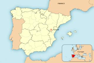 Les amoureux de Teruel Mapa_t10