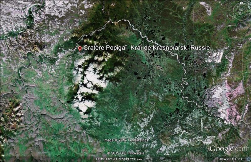 Le cratère de Popigaï - Sibérie - Russie Cratar10
