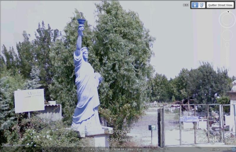 Statue de la Liberté = les répliques découvertes grâce à Google Earth - Page 4 D10