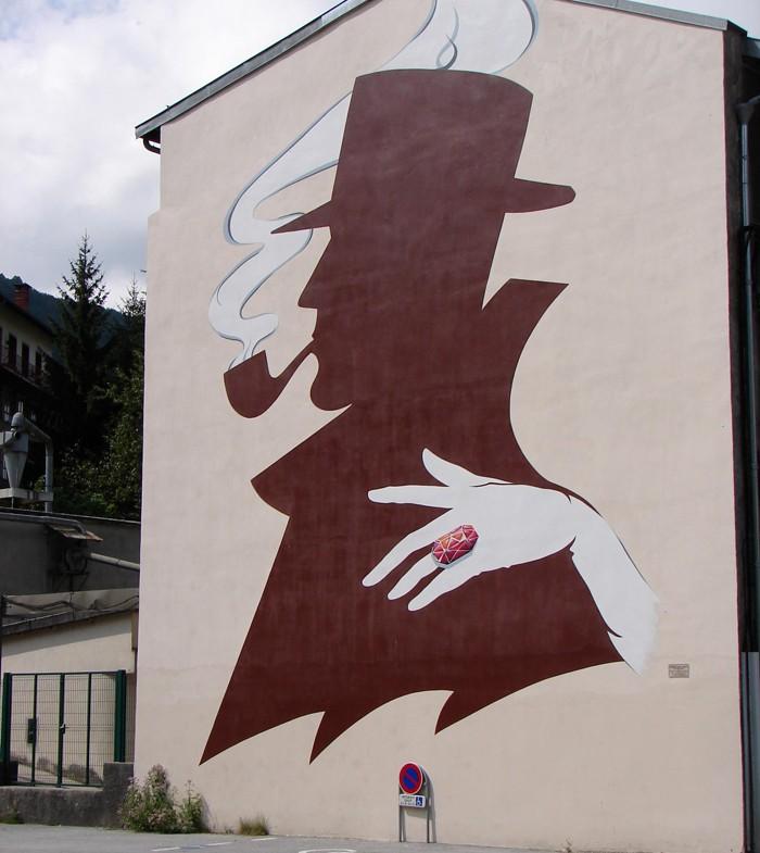 STREET VIEW : les fresques murales en France - Page 14 St-cla10