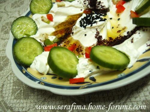 Лябани. Кисло-молочный продукт. Арабская кухня. Imag0511