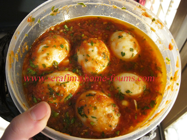 Пикантные маринованные куриные яйца Img_0313
