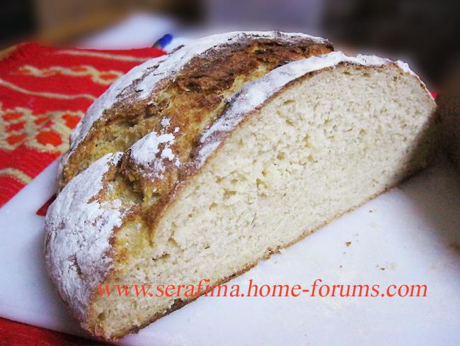 Домашний хлеб с цельнозерновой мукой, кумином и картофелем Img_0314