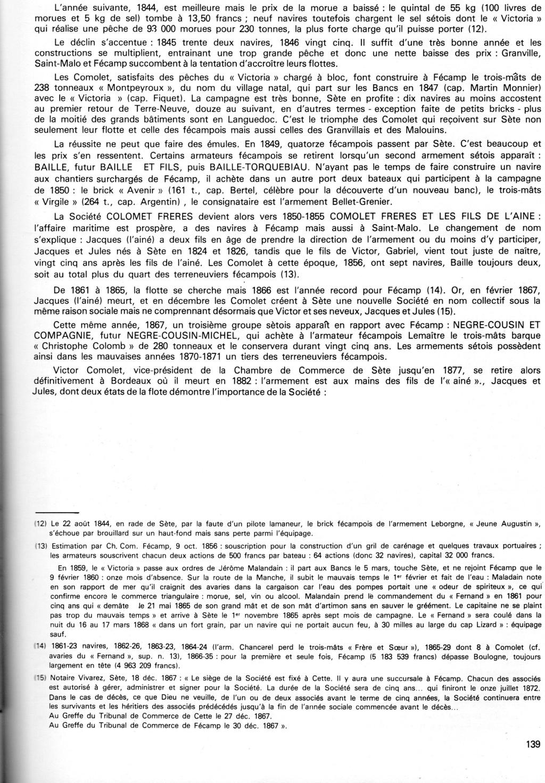 Morue, sel et vin : l'occasion d'armements sétois à Fécamp au XIXe siècle Img11911
