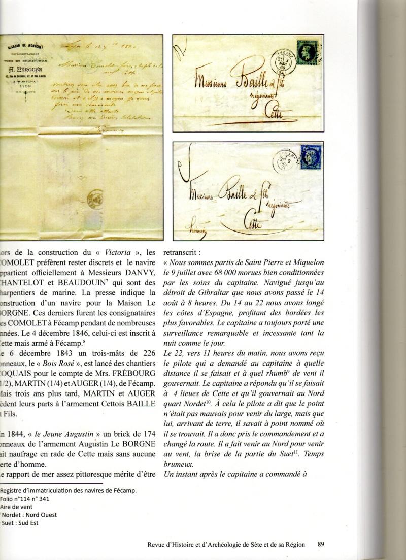 Morue, sel et vin : l'occasion d'armements sétois à Fécamp au XIXe siècle Img12410