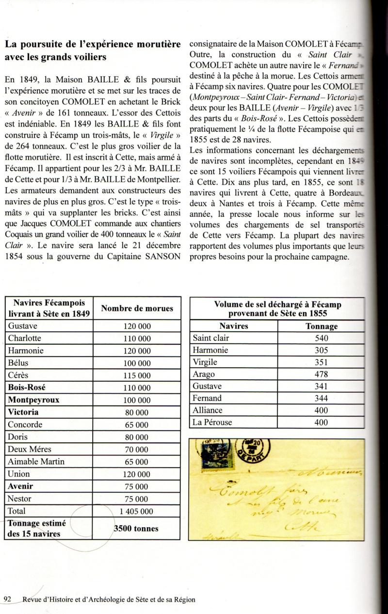Morue, sel et vin : l'occasion d'armements sétois à Fécamp au XIXe siècle Img12710