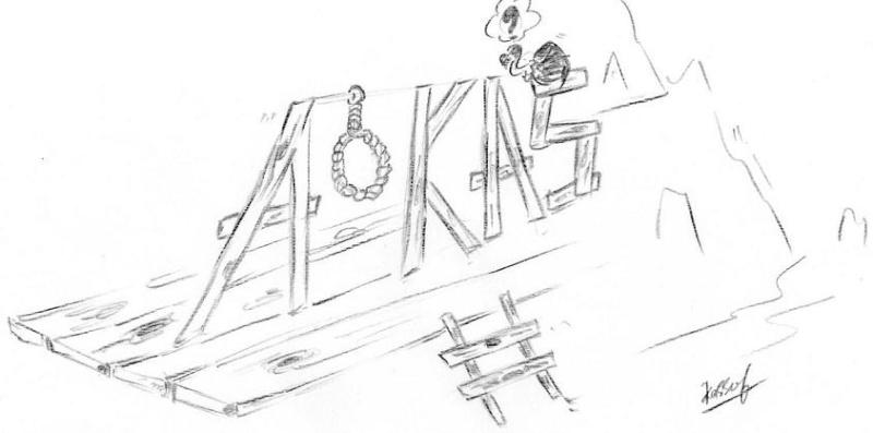Quelques caricatures ( Ecole Algerienne et la situation de nos jeunes) Suicid10