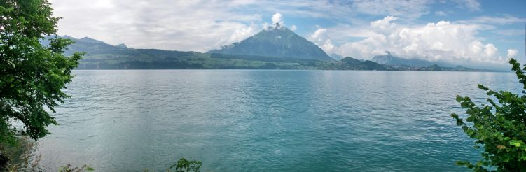 Prise de contact avec le tombant du Beatenbucht au lac de Thoune. Crbst_10