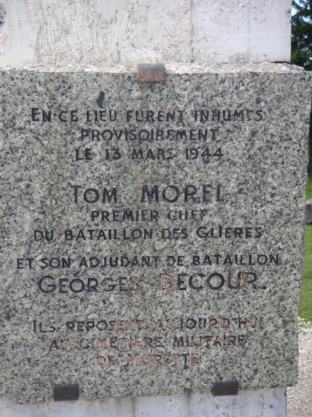 Monument des GLIERES Pict0114