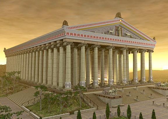 7 mrekullitë e botës antike Artemi10