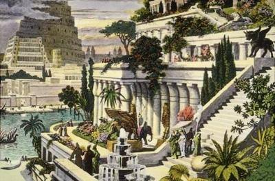 7 mrekullitë e botës antike Hangin10