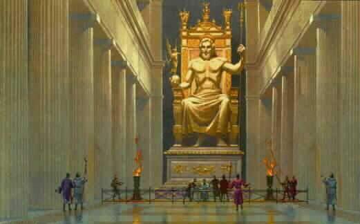 7 mrekullitë e botës antike Zeus11