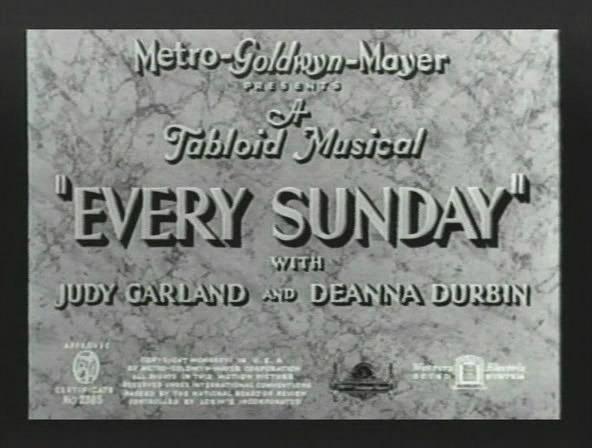 Every Sunday 0000110