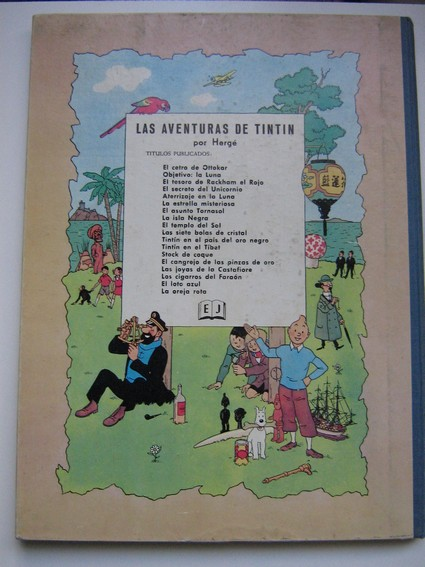 tintin en espagnol Tintin11