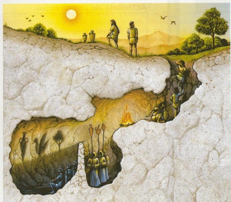 El mito de la caverna (Platón) El_mit12