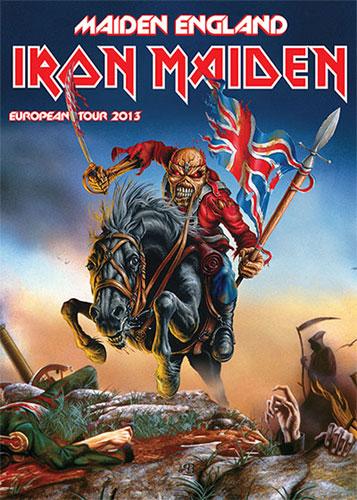 iron maiden 2013 tournée  12092010
